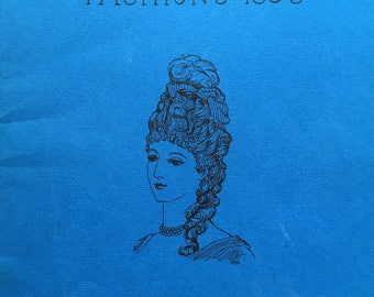 Fabulous Doll Clothing Pattern Book:  The Wish Booklet, 1885