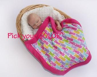Peep Easter blanket baby security blanket peep security blanket peep baby easter baby blanket lovie lovey