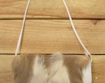 Deer Fur Shoulder Bag Purse