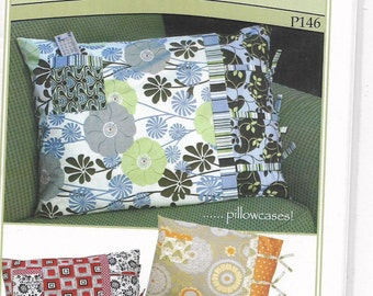 Unused, Pillowcase Sewing Pattern, Vanilla House, Pocket for Remote,  Heads above the rest