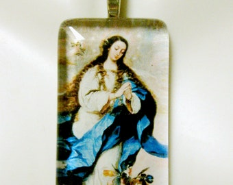 Immaculate Conception pendant with chain - GP01-325