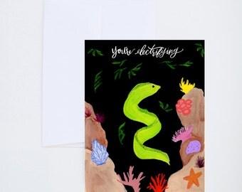 Love & Friendship -You're Electrifying Eel - Single Card A-2
