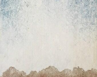 Original Hand Pulled Woodblock Print - Moku Hanga Landscape Block Print