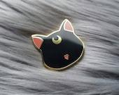 Factory Seconds - Luna Cat - Hard enamel Pin