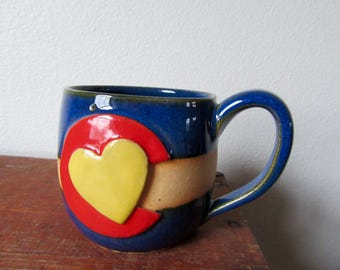 Rustic Colorado in my Heart - Cozy Coffee Mug - Show your CO state pride, ready to ship