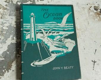 1946 OCEAN BOOK Vintage Book Journal Notebook
