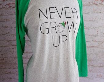 Peter Pan shirt, Disney shirt, Peter Pan, J. M. Barrie Peter pan, Never grow up, disney world, disney world shirt, peter and wendy