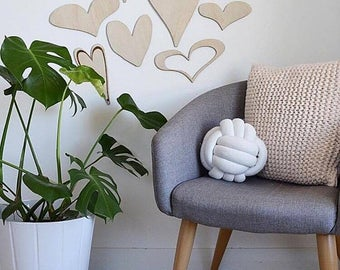 Hearts on a Wall Collection l Wall Plaques l Anniversary Gift l House Warming l Love Hearts l Natural Decor l Home Interiors l Home Decor
