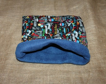 MEDIUM Happy Birthday Pouch for Small Pocket Pets- Guinea Pigs, Rats, Rodents, Hedgehogs and more!