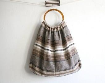 Oversized Textile Beach Bag