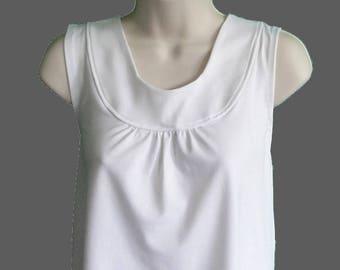 S-2X - Post  Shoulder Surgery Shirt / Breast Cancer / Special Needs / Breastfeeding Shirt/ Adaptive Clothing  - Style Sara Wickaway