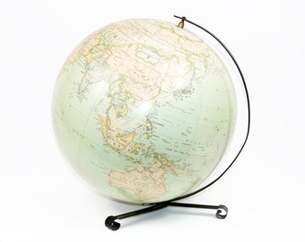 Vintage Globe by Hammonds: Made in the 1950's