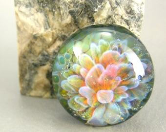 Fairy Bloom Cabochon - 23mm - Jewelry Making Supply