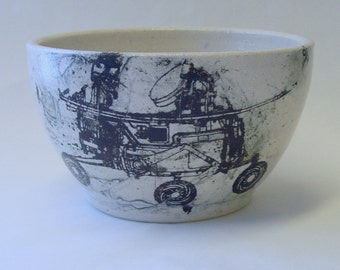 Mars Rover Lithographed Bowl