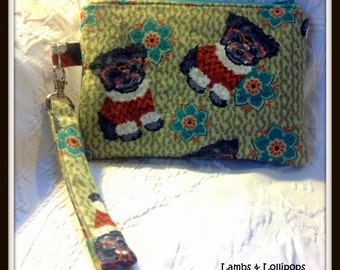 Morkie Gift - Morkie Dogs - Zippered Wristlet-Pouch-Bag-Would Make a Great Gift for Morkie Dog Lovers-Ready to Ship
