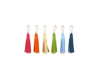 "2"" Leather Tassel 