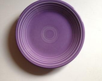 Vintage Lilac Fiestaware Salad Plate, Lilac Purple Fiestaware, 1990's fiesta Bread Plate
