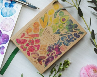 Eco-Friendly NoteBook - Let Thy Food Be Thy Medicine