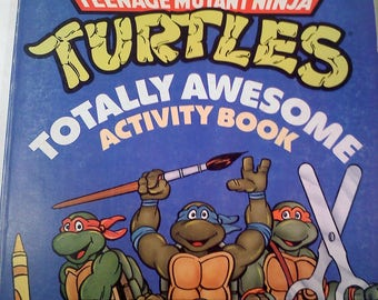 Teenage Mutant Ninja Turtles Totally Awesome Activity Book