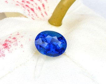 Cornflower Blue Sapphire 2.31cts Oval for Engagement Ring or Other Fine Gemstone Jewelry
