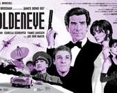 "James Bond 007 - Goldeneye - 17 x 11"" Digital Print"