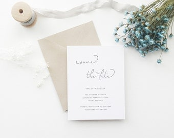 Jennifer Wedding Save the Date - Sample