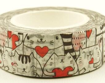 Cat Valentine - Japanese Washi Masking Tape - 11 Yards