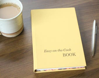 Easy On the Cook Book Journal