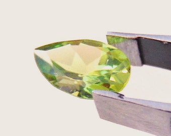 Sale! Pear Cut Peridot 1.82 Carat Natural Loose Gemstone, Ring,Pendant