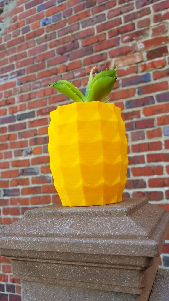 Items similar to 3d printed pineapple indoor outdoor for Pineapple outdoor decor