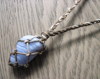 "Shop ""blue lace agate"" in Necklaces"