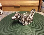 RESERVED FOR SARAH/Cow Creamer, Vintage , Calico ,Crownford