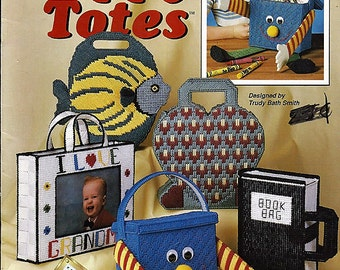 Happy Totes Plastic Canvas Pattern  Book The Needlecraft Shop 913907