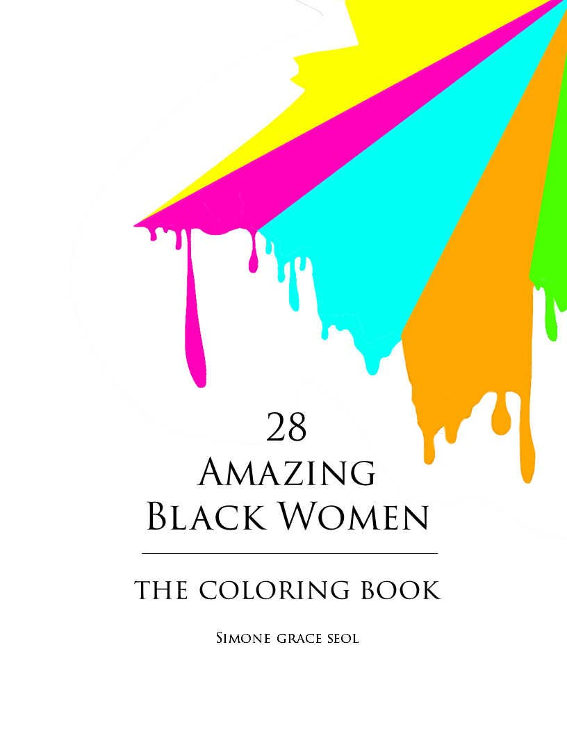 28 amazing black women coloring book