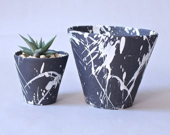 Torrent Planters Dark Grey Made to Order