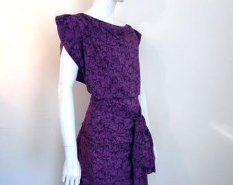 BURBO Classic 'Sy-Anne' Paisley dress