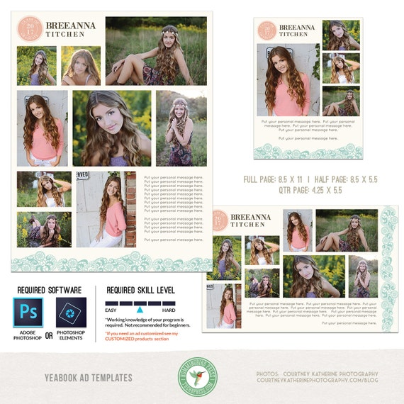 yearbook ad templates free - yearbook ad templates senior ad graduation ad high school