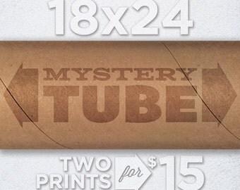 18x24 Mystery Tube