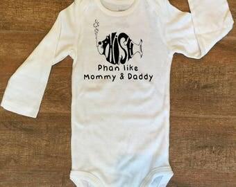 Phish Phan like Mommy & Daddy Bodysuit