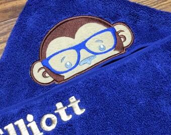 Eye Glasses Add On - Add Glasses to a Crafting4Caleb Item, Hooded Towel, Pillow, Bib, Bath Towel, Beach Towel, Towel Bib, Baby Shower Gift