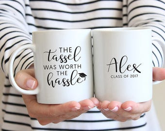 Personalized Mug, Custom Mug, Gift, Graduation Gift, Gift for Grad, Printed Mug, Personalized, Custom Mug, Coffee Mug, Class of 2017