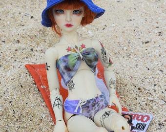 1/4 doll~ Bikini set   BJD (40/45 cm)