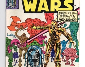 "Marvel Star Wars Comic #47 ""Droid World"" - 1980 Star Wars"