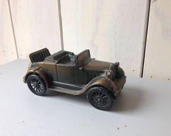 Vintage Piggy Bank, Model T Piggy Bank, Old Car Piggy Bank