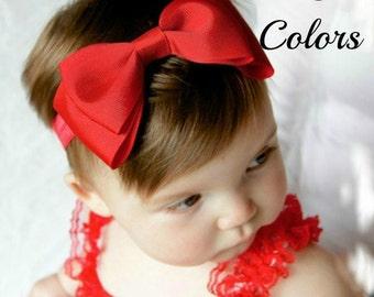 Baby Bow Headband, Baby Hair Bows, Girls Headbands, Toddler Headband, Hair Bows, Bow Headband, Baby Bows, Adult Headbands, Newborn Headband