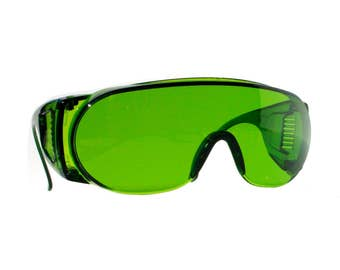 Emerald Green Safety Glasses, Festival Sunglasses, Burning Man Goggles, Pilot Glasses, Emerald Green, Welding, Aviators, Flight Shades