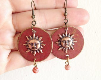 Desert Sunrise Earrings