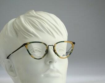 Robert Rudger  220 82 / Vintage eyeglasses & sunglasses / 90S unique and rare