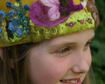 One custom waldorf birthday crown