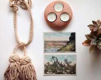 vintage candle holder, tea light candle holder, southwest, desert style, southwest style, southwestern, santa fe style, bohemian